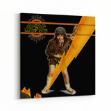 AC/DC High Voltage Strike Canvas Art