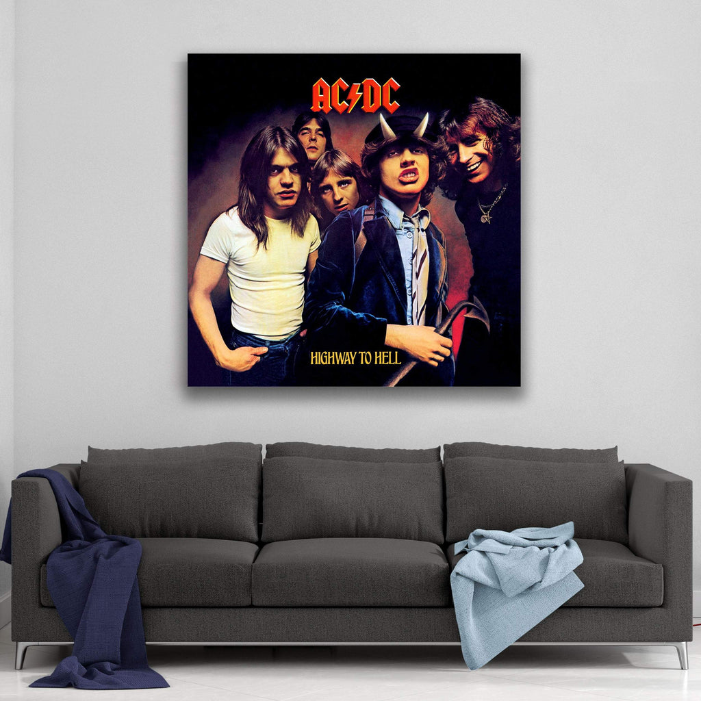 AC/DC Highway to Hell Canvas Art