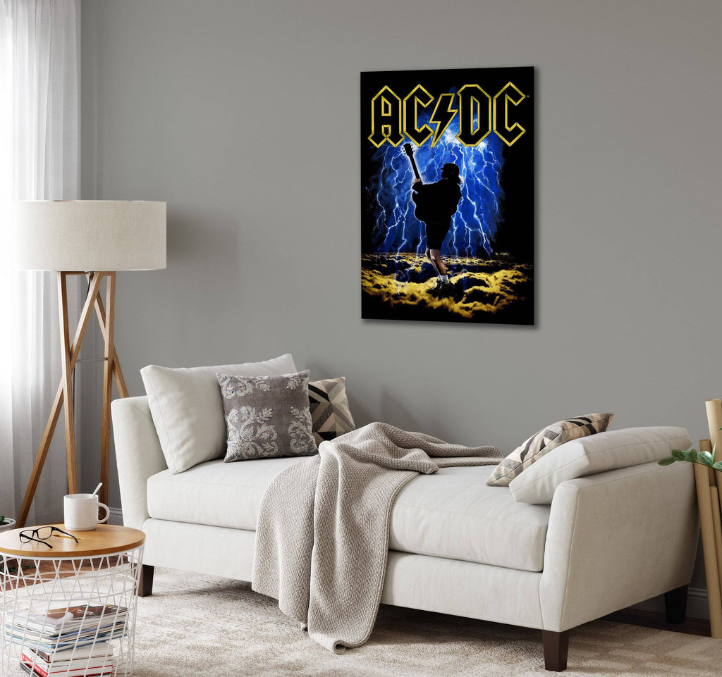 Canvas AC/DC Highway to Hell by Stephen Fishwick Canvas Art