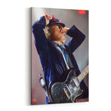 AC/DC Horns Look Up Canvas Art