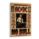 AC/DC No Bull Canvas Art