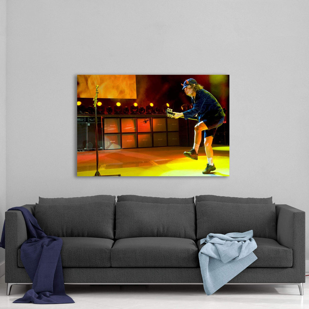 AC/DC Play it Louder Canvas Art