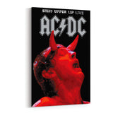 AC/DC Stiff Upper Lip Canvas Art