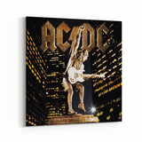 AC/DC Stiff Upper Lip Statue Canvas Art