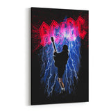 AC/DC Thunderstruck by Stephen Fishwick Canvas Art