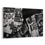 AC/DC Wear My ACDC Jacket Canvas Art