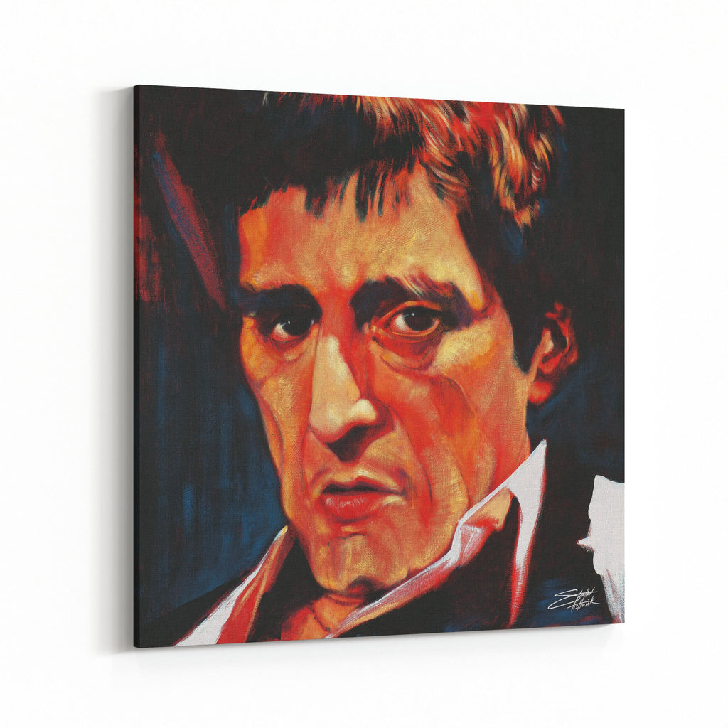 Al Pacino by Stephen Fishwick Canvas Art