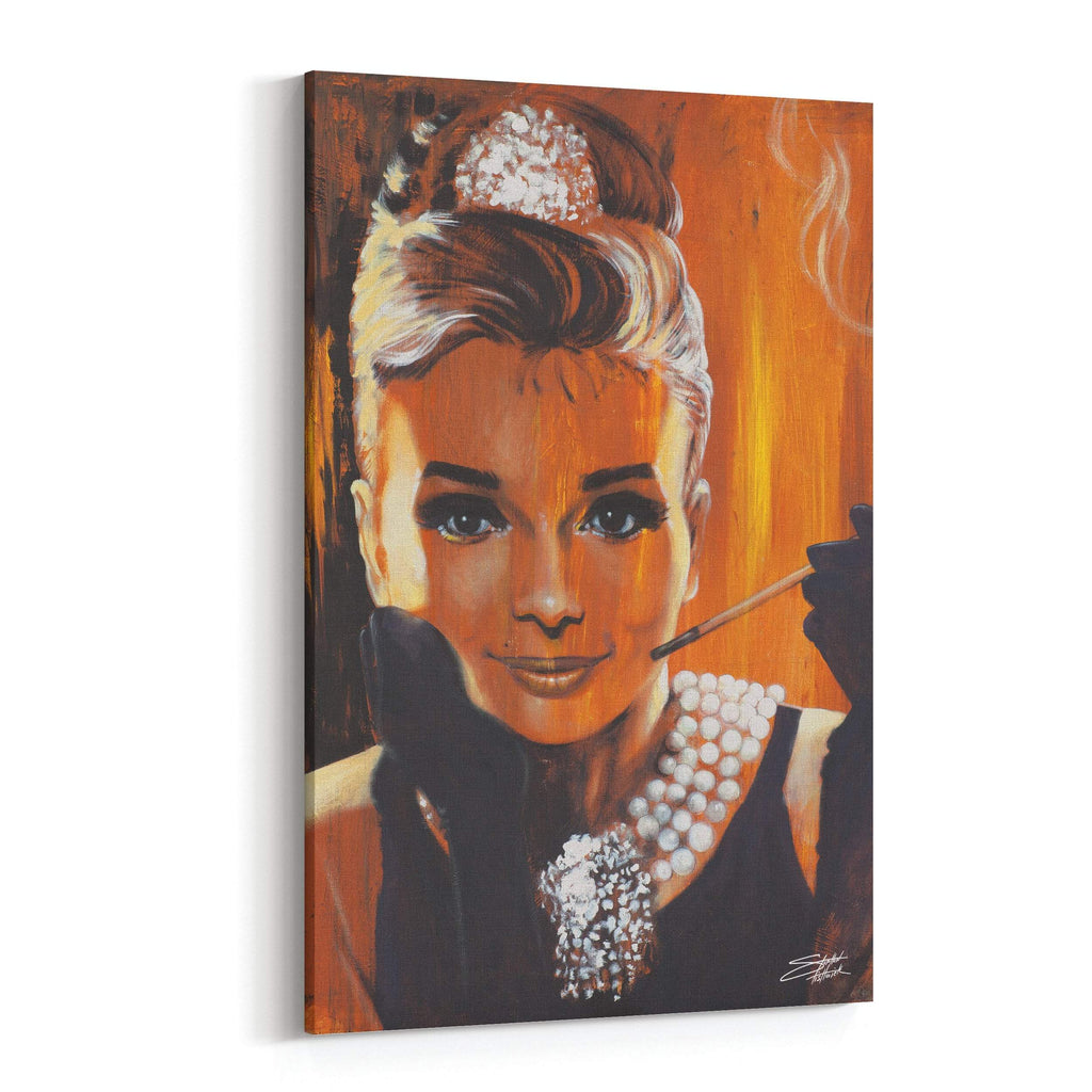 Breakfast Audrey Hepburn by Stephen Fishwick