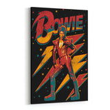 David Bowie Strike a Pose Canvas Art