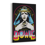 David Bowie Life on Mars Egyptian Canvas Art