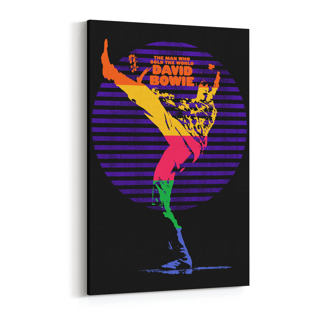 David Bowie Man Who Saved the World Canvas Art