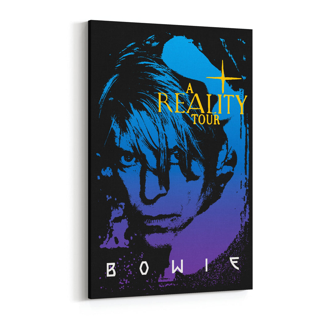 David Bowie Reality Tour Canvas Art