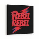 David Bowie Rebel Rebel Canvas Art