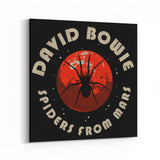 David Bowie Spiders From Mars Canvas Art