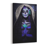 Day of the Dead Luna Muerte By Daveed Benito Canvas Art