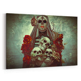 Day of the Dead Ofrecimiento By Daveed Benito Canvas Art