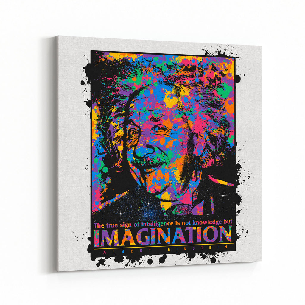 Einstein Imagination Canvas Art
