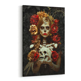 Flores De La Murte By Daveed Benito Canvas Art
