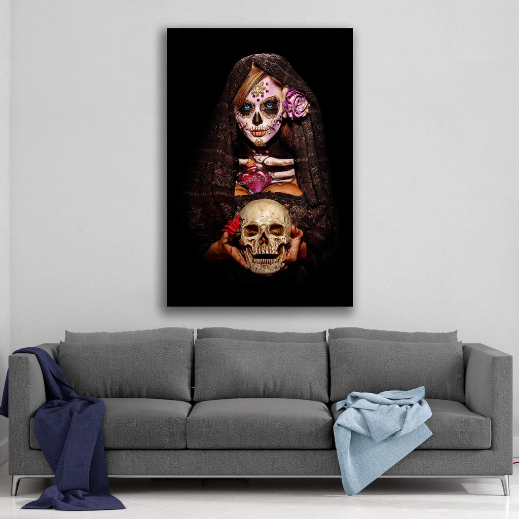 Fortune Teller  Canvas  By Daveed Benito Canvas Art