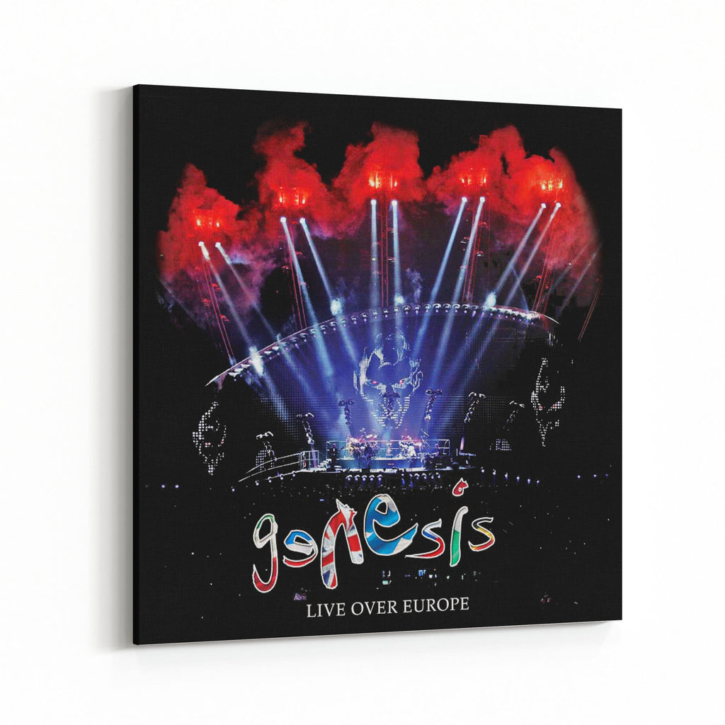 Genesis Live Over Europe Canvas Art