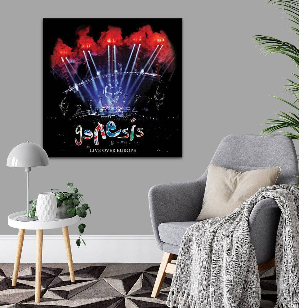 Canvas Genesis Live Over Europe Canvas Art
