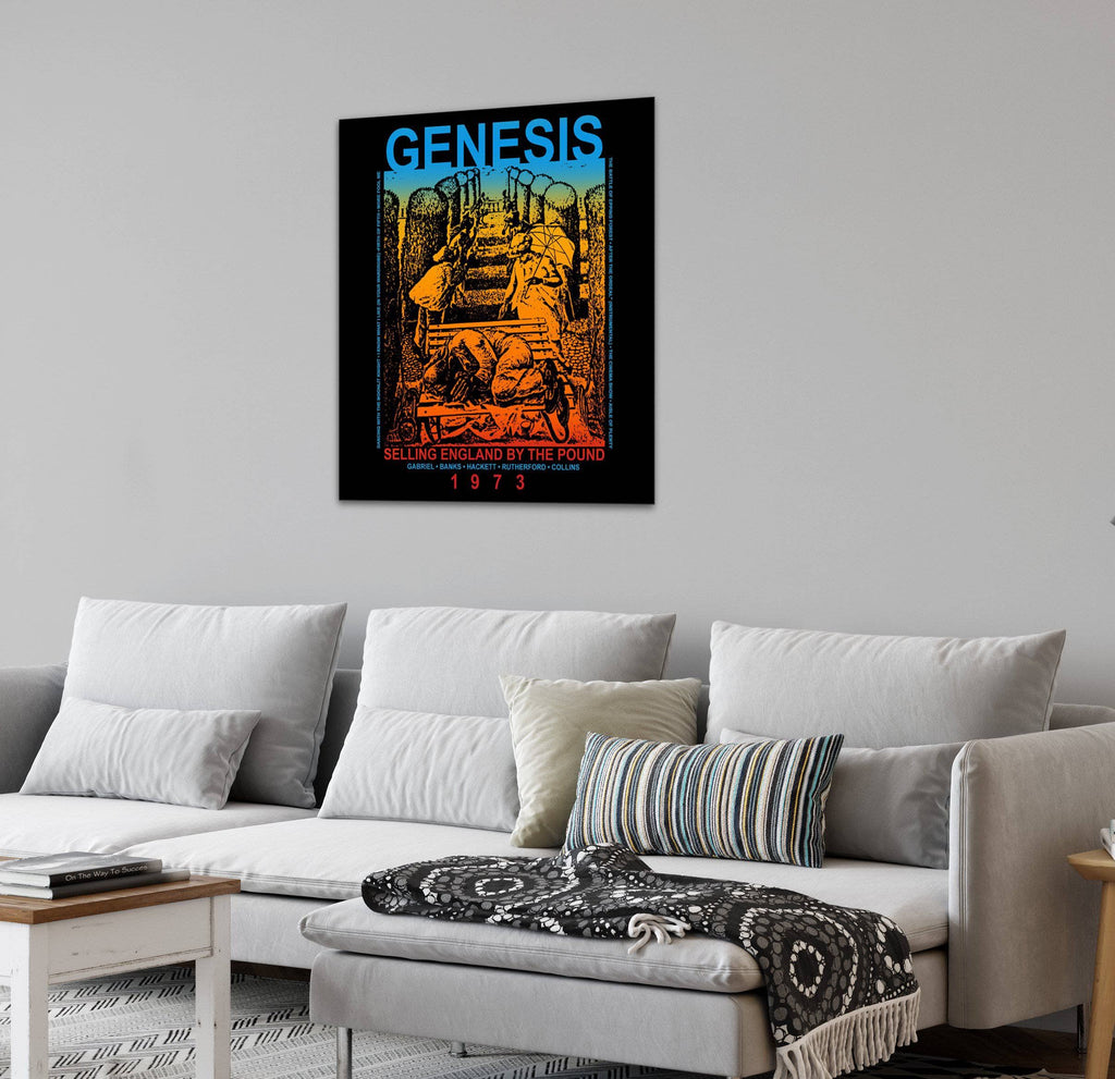 Canvas Genesis Selling England by the Pound Canvas Art