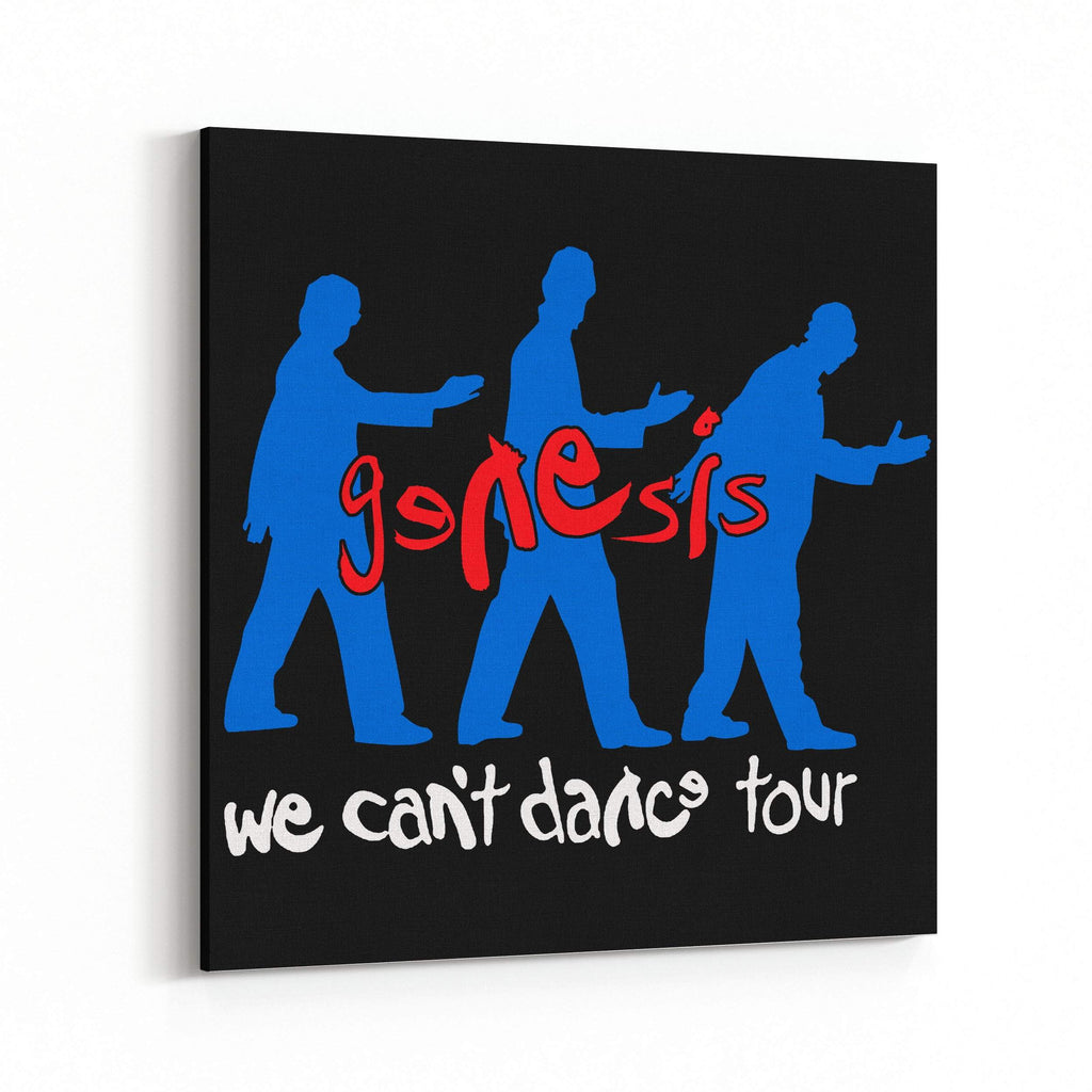 Genesis We Can't Dance Tour Canvas Art