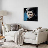Canvas James Dean by Stephen Fishwick Canvas Art