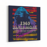 Janis Joplin Madison Square Garden Canvas Art