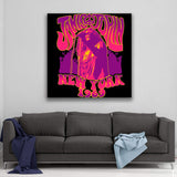 Janis Joplin 1969 New York Canvas Art