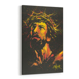 Jesus Christ Crown of Thorns by Stephen Fishwick Canvas Art