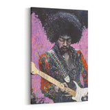 Jimi Hendrix by Stephen Fishwick Canvas Art