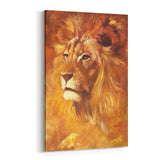Lion by Stephen Fishwick Canvas Art