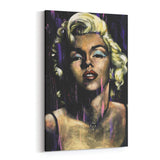 Marilyn Monroe Candle In The Wind by Stephen Fishwick Canvas Art