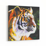 Patience Eye of the Tiger by Stephen Fishwick Canvas Art