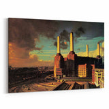 Pink Floyd Animals Fly Canvas Art