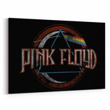 Pink Floyd Dark Side Grunge Canvas Art