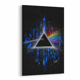 Pink Floyd Dark Side of the Moon by Stephen Fishwick Canvas Art