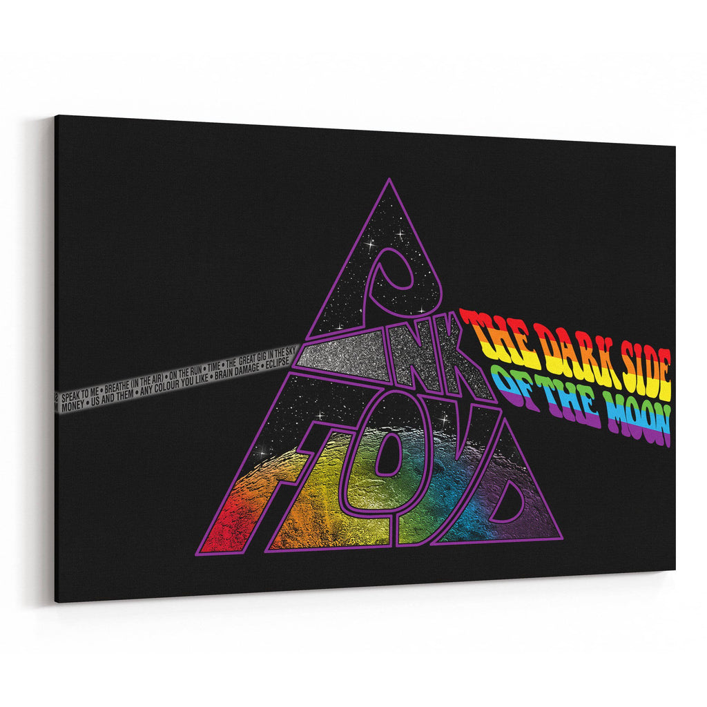 Pink Floyd Dark Side of the Moon Revisited Canvas Art