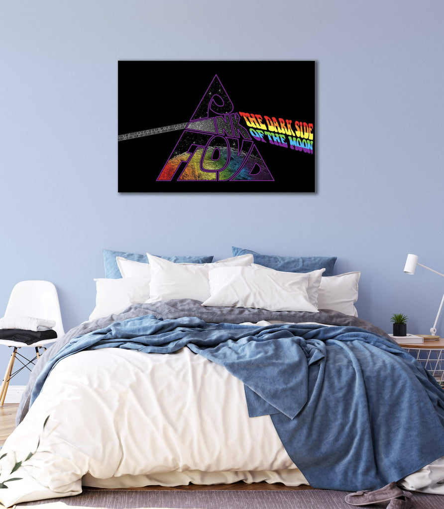 Canvas Pink Floyd Dark Side of the Moon Revisited Canvas Art