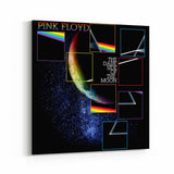 Pink Floyd Dissected Dark Side Canvas Art