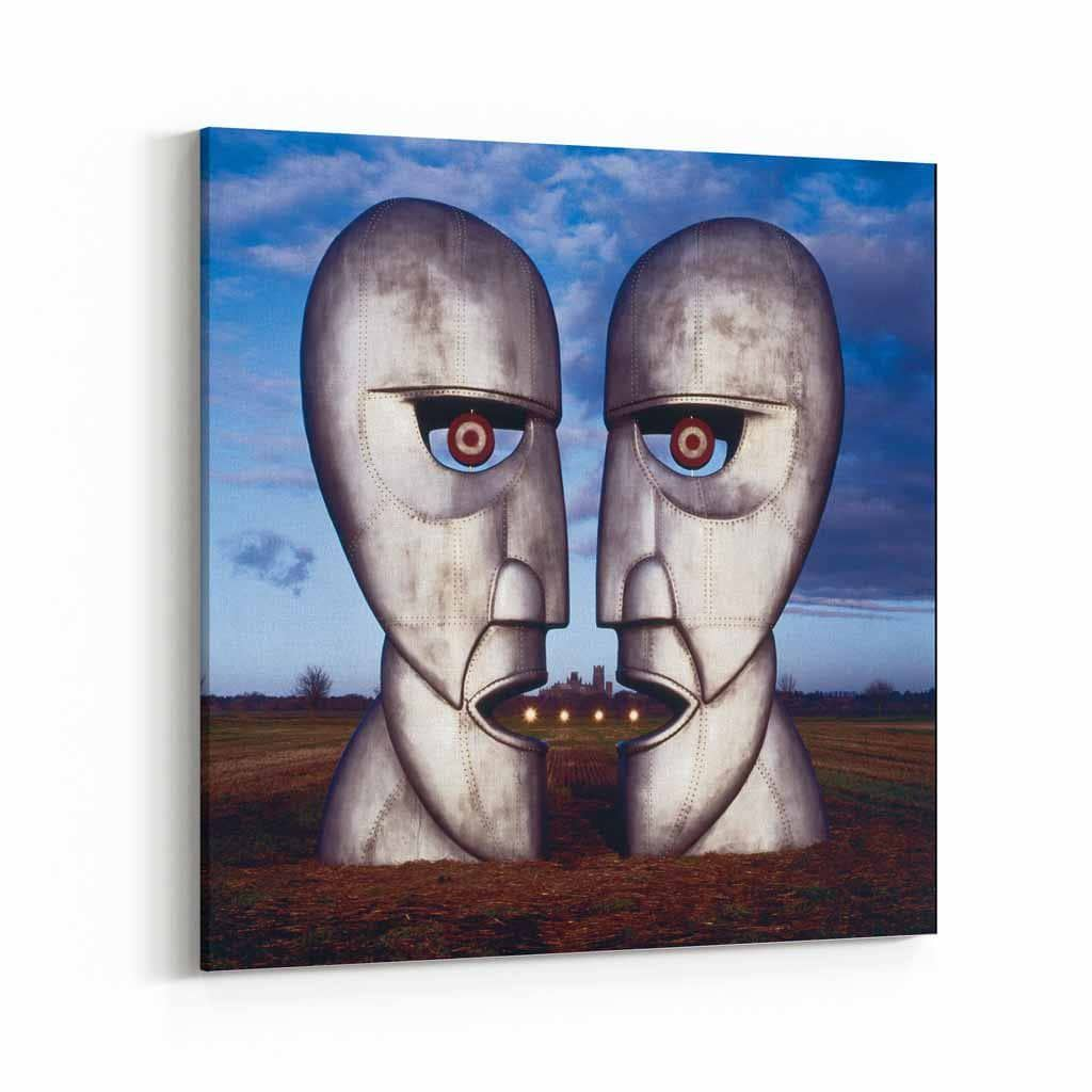 Pink Floyd Metal Heads Canvas Art