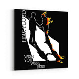 Pink Floyd Shadow On Fire Canvas Art