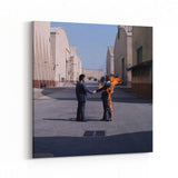 Pink Floyd Wish You Were Here Cover Canvas Art