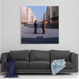 Canvas Pink Floyd Wish You Were Here Cover Canvas Art