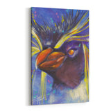 Rock Hopper Penguin by Stephen Fishwick Canvas Art