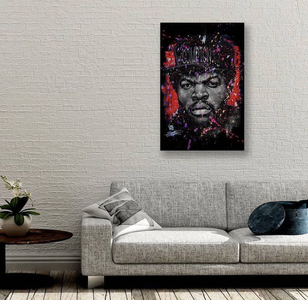Canvas Straight Outta Red by Stephen Fishwick Canvas Art