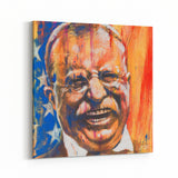 Teddy Roosevelt by Stephen Fishwick Canvas Art