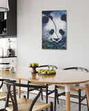 Canvas Together Again Panda by Stephen Fishwick Canvas Art