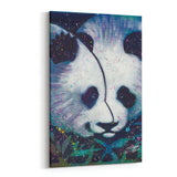 Together Again Panda by Stephen Fishwick Canvas Art